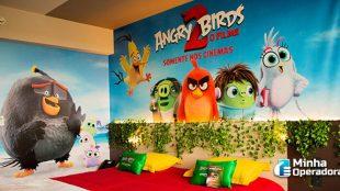 Vivo hospedará clientes em quarto de Angry Birds