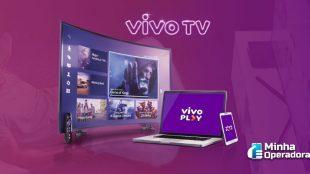 Vivo TV libera sinal de dois canais de filmes e séries