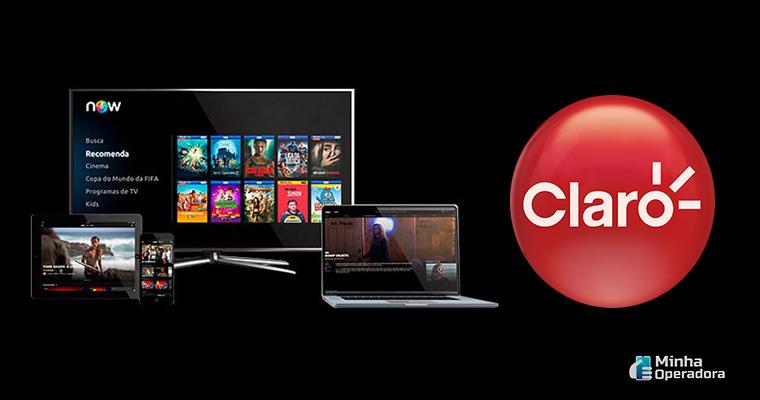 Divulgação Claro net tv