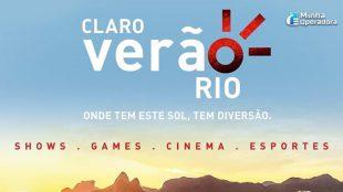 Claro vai promover evento de verão no Rio de Janeiro