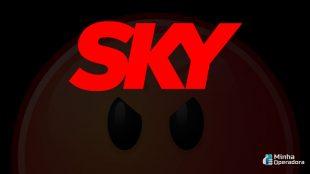 Clientes da SKY estão sem sinal há quase um mês