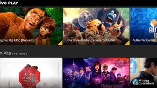 Filmes no Vivo Play estão com 50% de desconto