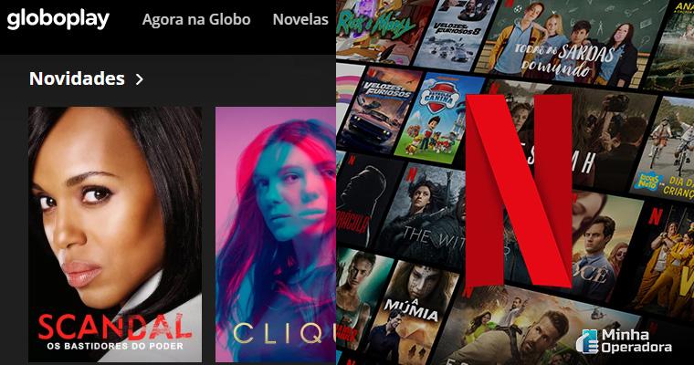 Divulgação Globo e Netflix