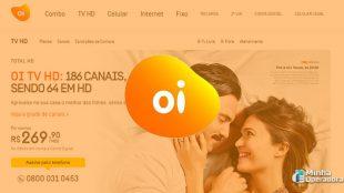 Oi TV via satélite cobra R$ 600 de adesão