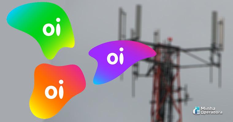 Ilustração - Torre de telefonia móvel