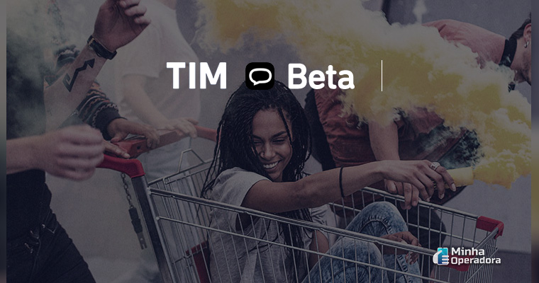 Divulgação do TIM Beta