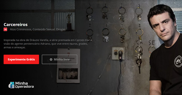 Imagem: Série Carcereiros no Globoplay
