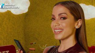 Anitta aparece em nova campanha da Claro