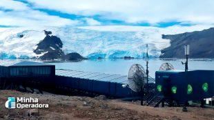 Oi leva conectividade para Antártica