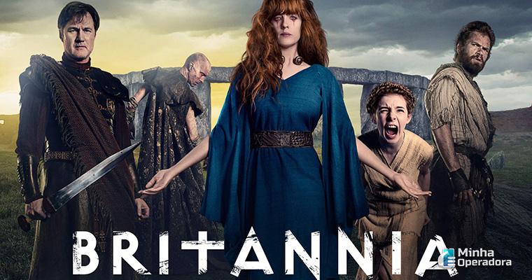 Série Britannia, em exibição no FOX Premium