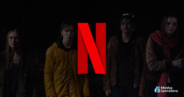 Cena da série Dark, da Netflix