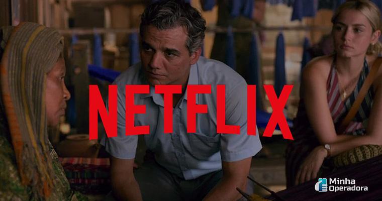 Cena do filme Sergio, futuro lançamento da Netflix.