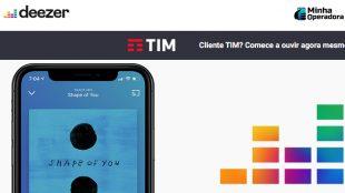 Parceria com a TIM enaltece Deezer no Brasil