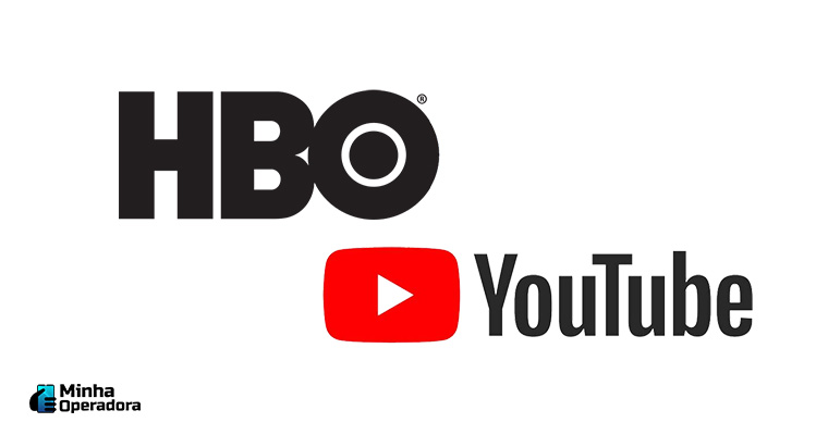Logotipo HBO e YouTube