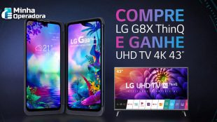 Cliente da Claro ou Vivo compra celular com desconto e ganha TV 4K