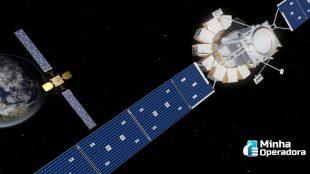 Intelsat realiza com sucesso resgate espacial