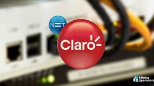 Ajuste deixa clientes da Claro net sem banda larga
