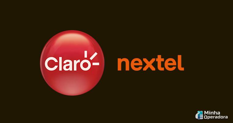 Logotipo Claro e Nextel