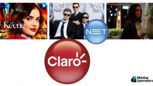 Claro net tv abre sinal de canais à la carte