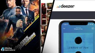 Deezer e Telecine Play liberam acesso para ajudar reclusão