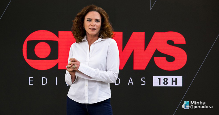 Leilane Neubarth no GloboNews