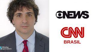 Jornalista da GloboNews alfineta CNN Brasil
