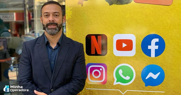 Giovani da Silva, diretor de Varejo e Empresarial da Oi na Região Sul.