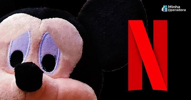 Ilustração - Mickey e Netflix