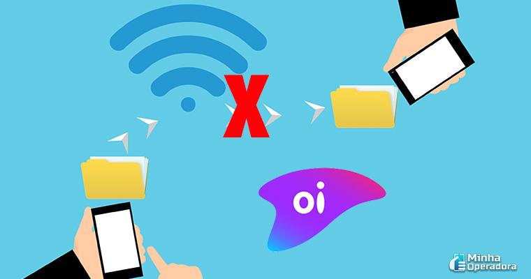 Ilustração Wi-fi