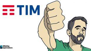 TIM migra pré-pago para pós sem solicitação do cliente
