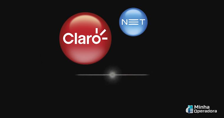 Divulgação logotipo Claro net tv