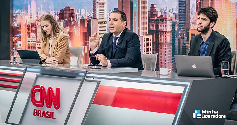 Teste de programa piloto na CNN Brasil