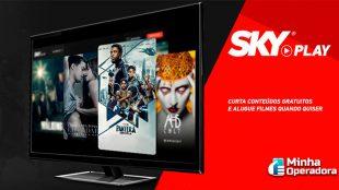 SKY Play agora está disponível para os clientes pré-pago