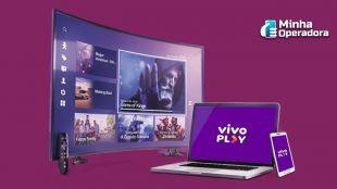Vivo TV abre sinal de 100 canais por conta do coronavírus