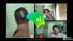 Campanha da Oi Fibra destaca chamadas de vídeo na quarentena