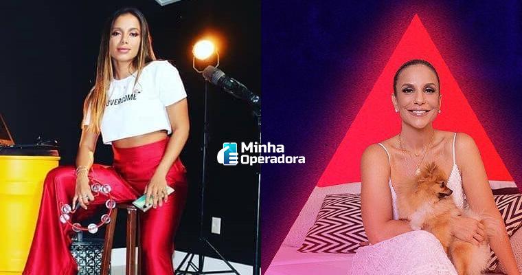 Anitta e Ivete Sangalo