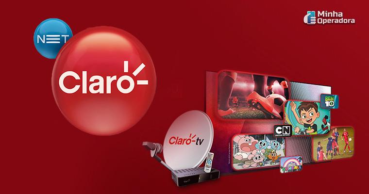 Divulgação Claro TV