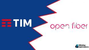 Divergências atrapalham acordo entre TIM e Open Fiber