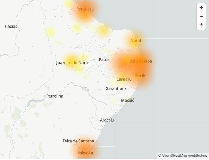 Mapa de instabilidades