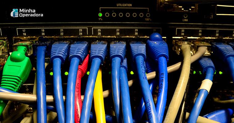 Ilustração - Cabos de telecomunicação