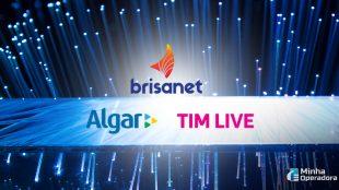 Quais empresas lideram entre os pequenos provedores de banda larga?