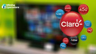 Sinal aberto na TV paga da Claro net ganha mais dias