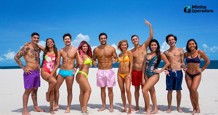 """Nova temporada do """"De Férias com o Ex"""", da MTV. Uma das emissoras que mais cresceu no ibope. Imagem: Divulgação"""
