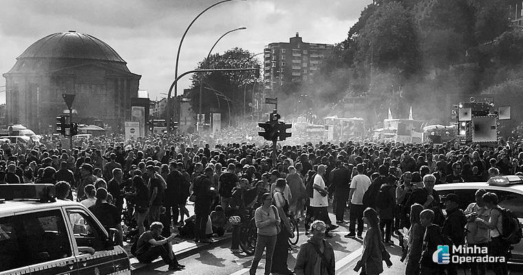 Imagem ilustrativa: Protesto