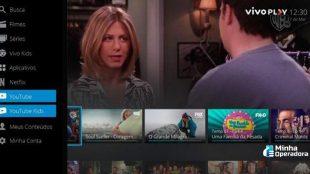 Vivo TV disponibiliza acesso ao YouTube via decodificador