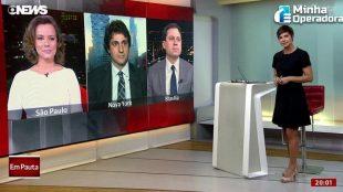 GloboNews atinge recorde de 5 milhões de espectadores