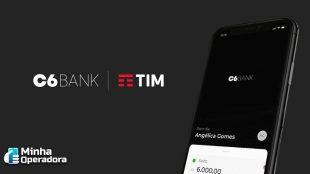TIM e C6 Bank anunciam a primeira novidade