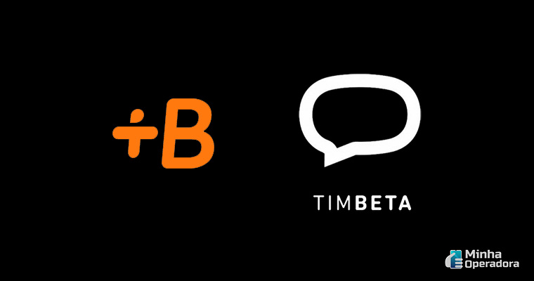 Logotipo Babbel + TIM Beta
