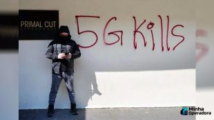 Ataques às operadoras crescem por causa da 'teoria do 5G'