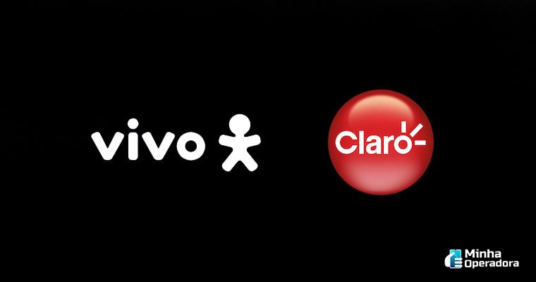 Logotipo Vivo e Claro